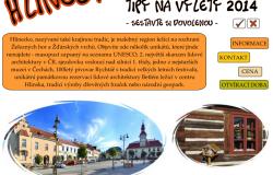 Tipy na výlety na Hlinecku 2014